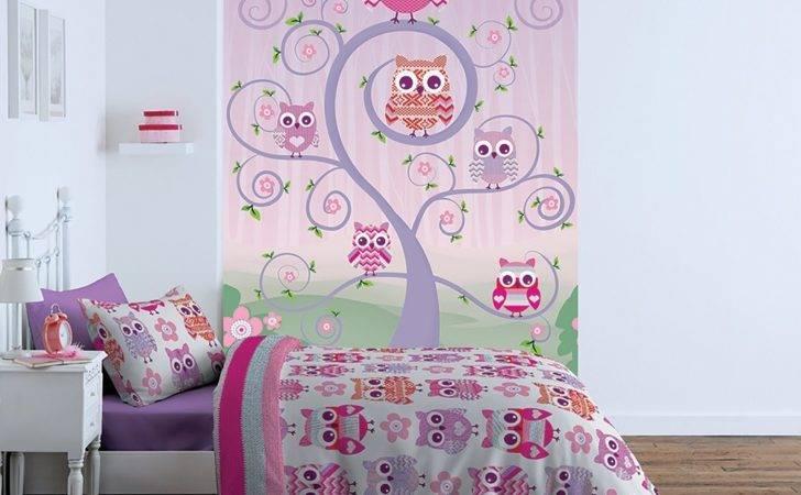 Girls Room Owl Mural Wall Murals Ireland