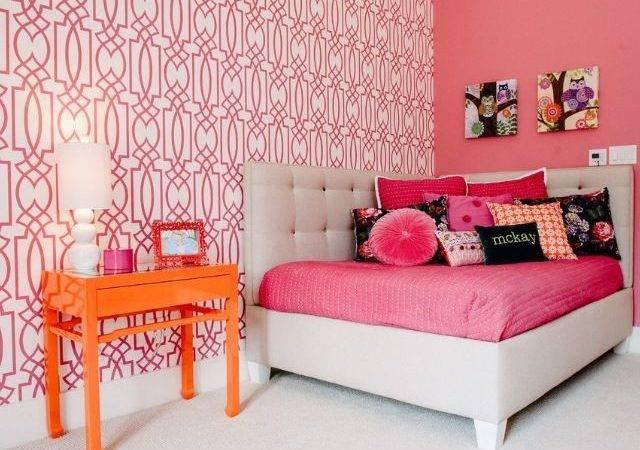 Girls Room Pink Home Pinterest