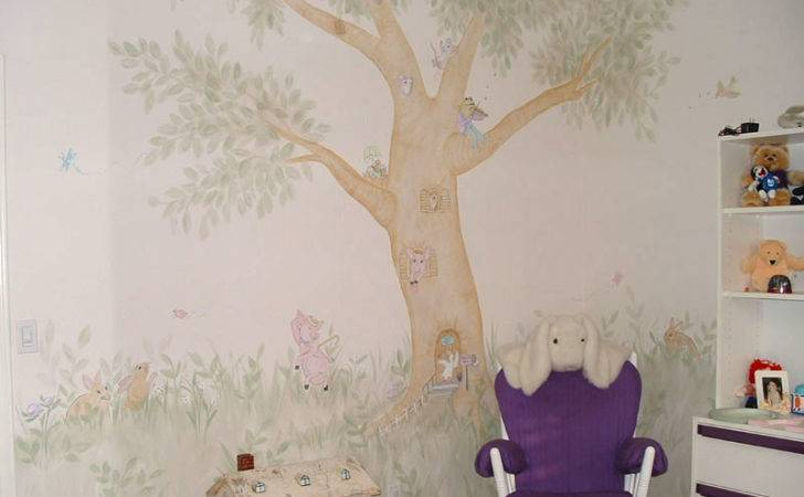 Girls Room Wall Murals Examples