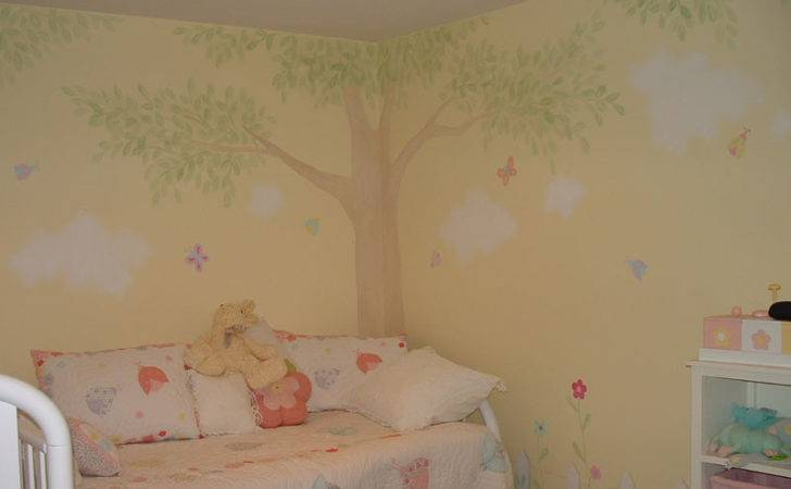 Girls Room Wall Murals Girl Theme Colette