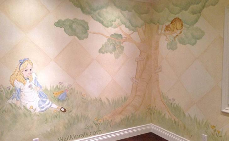 Girls Room Wall Murals