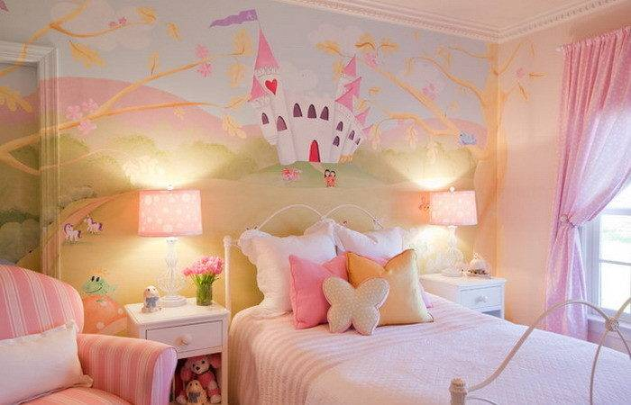 Girls Wall Murals Room Decoration Style Fashionista