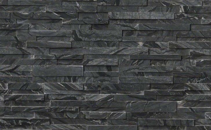 Glacier Black Gray Oak Honed Splitface