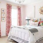 Glamorous Bedrooms Guest Light Pink Walls Headboards