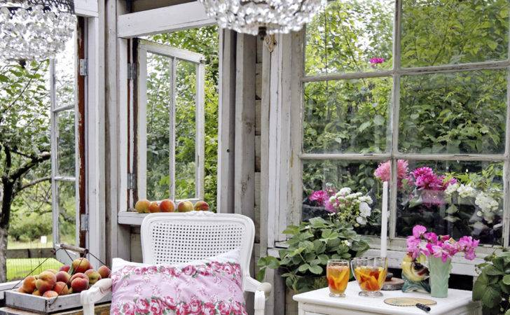 Glamorous Garden Shed Makeover Shabby Chic She Decorating