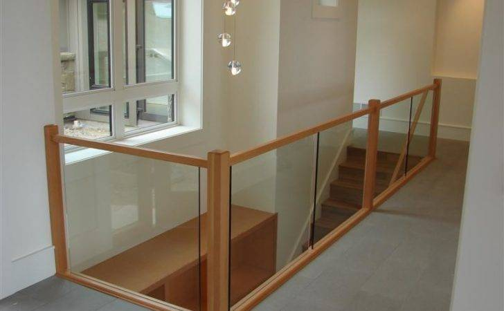 Glass Banister Wood Can Someone Tell Make