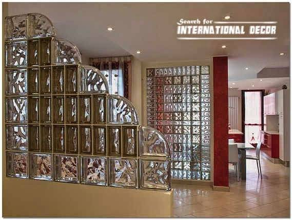 Glass Block Installation Partition Wall