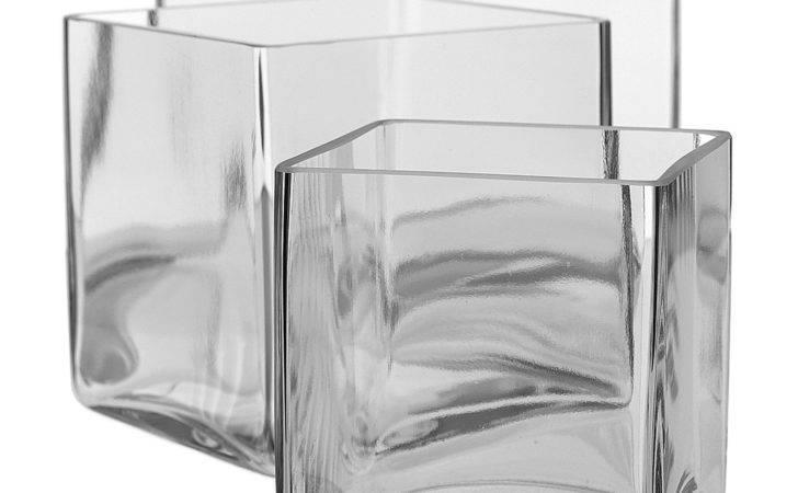 Glass Cube Accent Decor