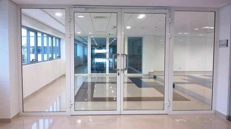 Glass Door Office Wall Making Dhaka