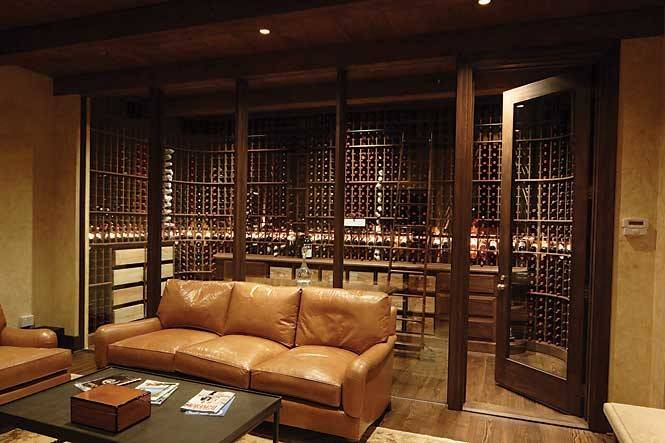 Glass Enclosed Wine Cellars Actually Reasonably Priced