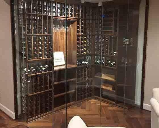 Glass Enclosed Wine Cellars Cellar Innovations