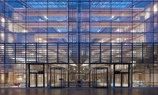 Glass Facade Green Design Eco Sustainable Building