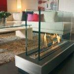 Glass Fireplace Ideas Keep Warm Winter