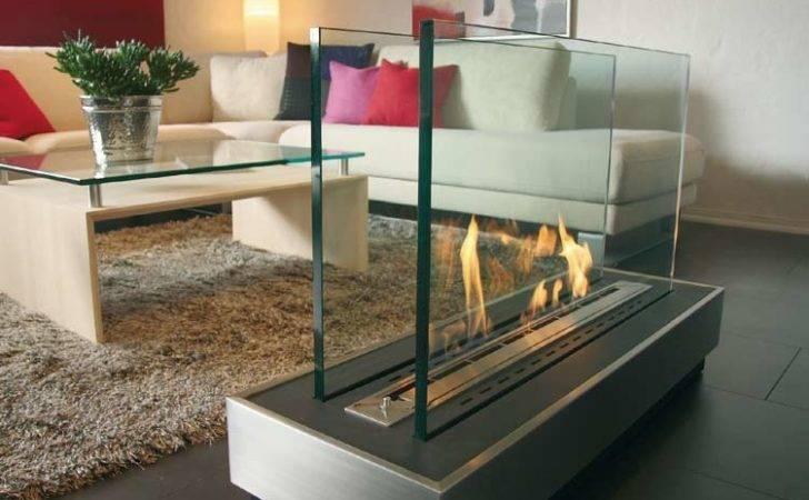 Glass Fireplace Ideas Keep Warm Winter