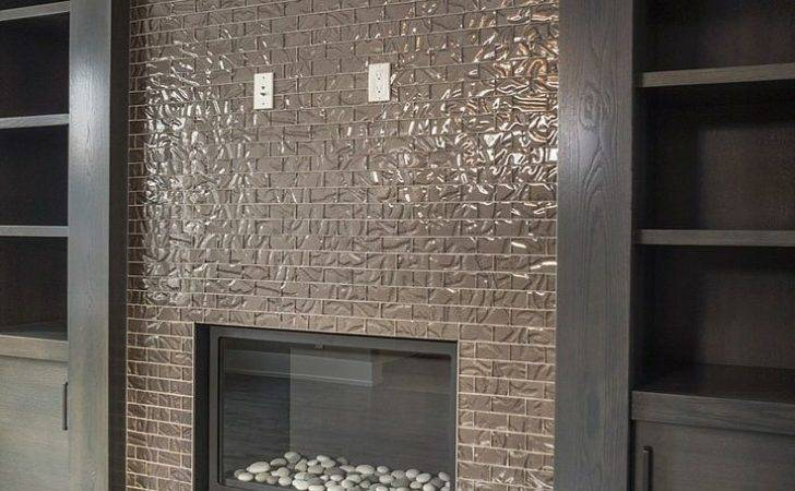 Glass Fireplace Tiles Posted Tile
