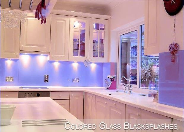 Glass Kitchen Backsplash Backsplashes