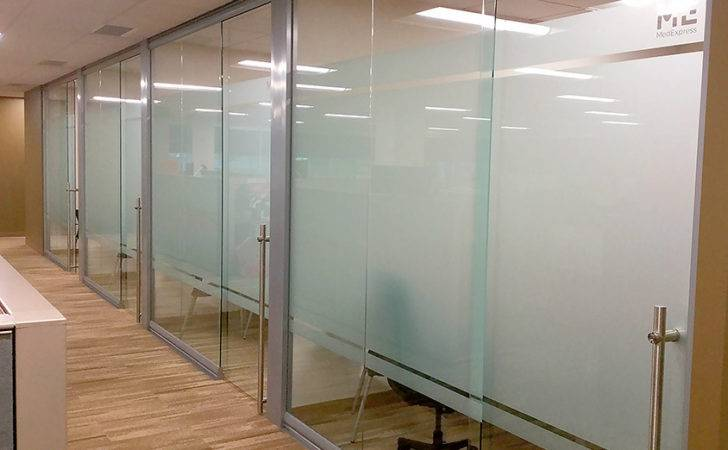 Glass Office Wall System