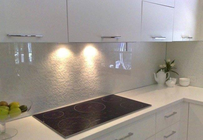 Glass Paint Backsplash Results