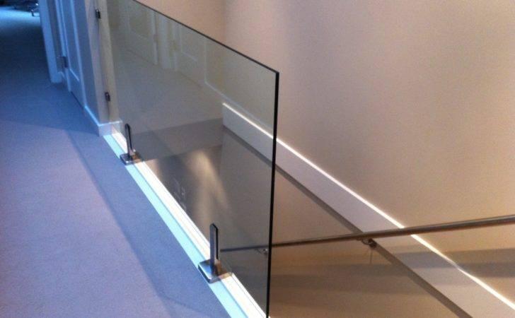 Glass Railings Super Interior Railing All Clamps Exterior House