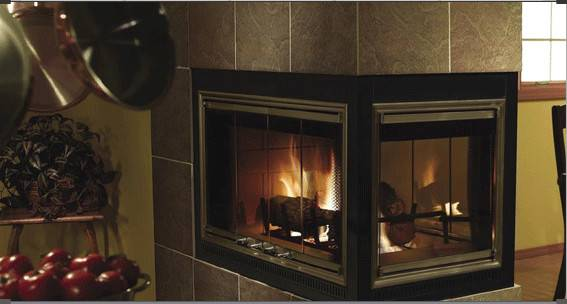 Glass Replacement Fireplace