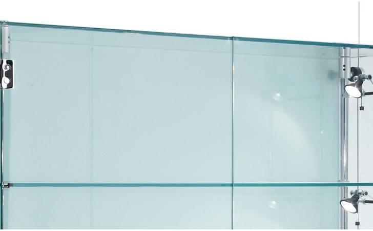 Glass Shelf Hanging Hardware Ceiling Suspended