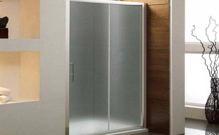 Glass Shower Doors Cheap Diy Frosted