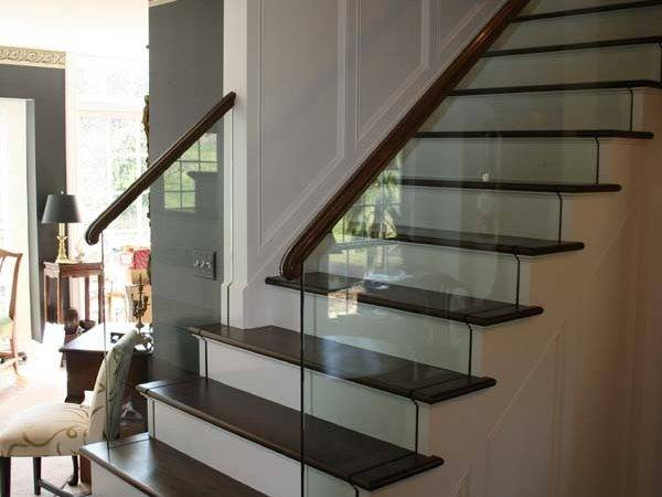 Glass Stair Railing Railings Marc Konys Design