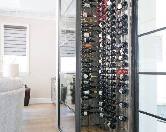 Glass Whine Cellar Living Room Wine Glasswinecellar