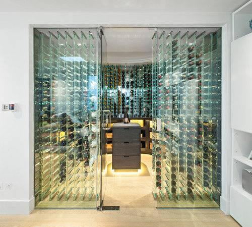 Glass Wine Cellar Home Design Ideas Remodel Decor
