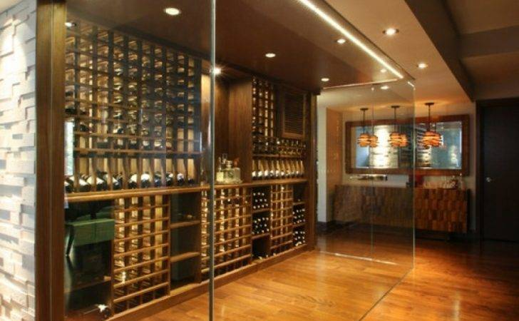 Glass Wine Cellar Ideas Remodel Decor