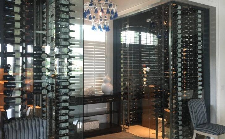 Glass Wine Cellar Shoppe Division Builders