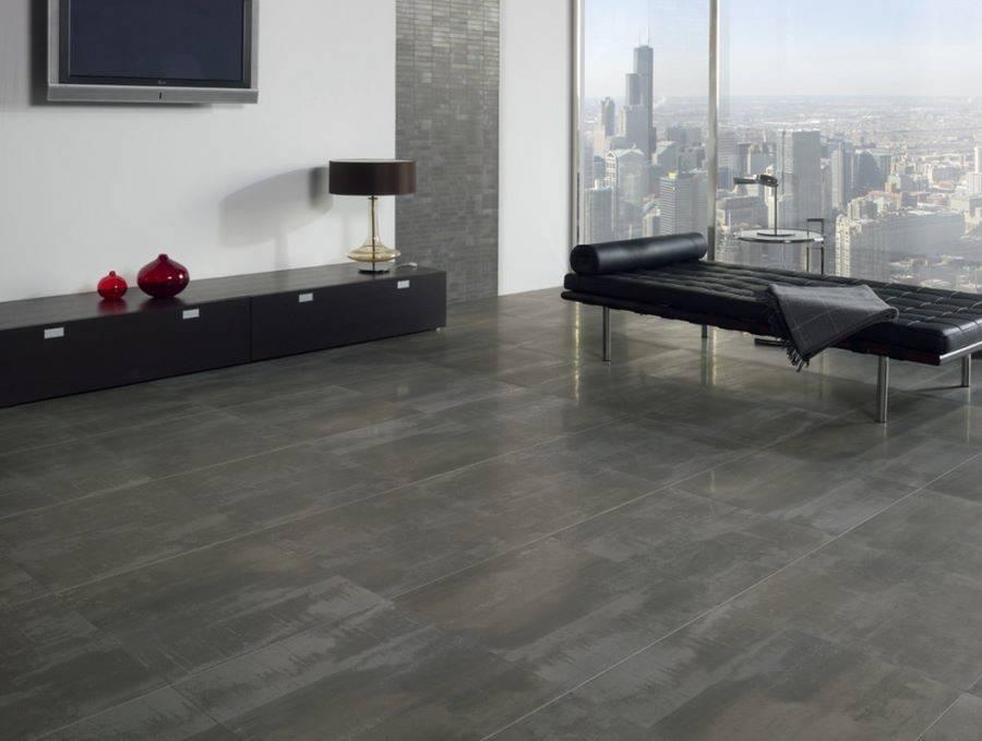 Glazed Porcelain Floor Tile Look Concrete