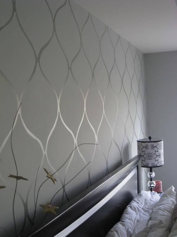 Gloss Matte Create Neat Wall Patterns Painted Prestige