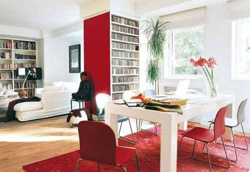 Good Feng Shui Tips Your Dining Room Decorating Red Color Accents
