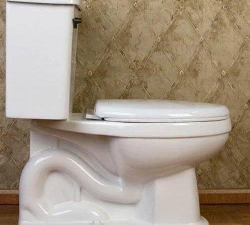 Good Looking Retro Style Toilet Renovation
