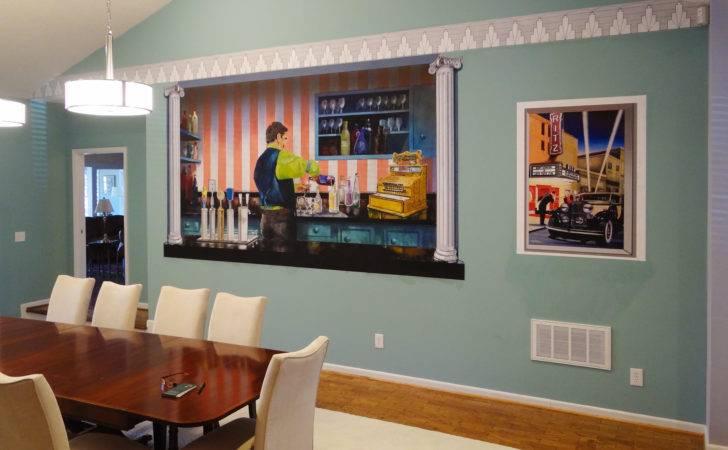 Good Profitable Business Custom Inkjet Wall Murals Home Cor