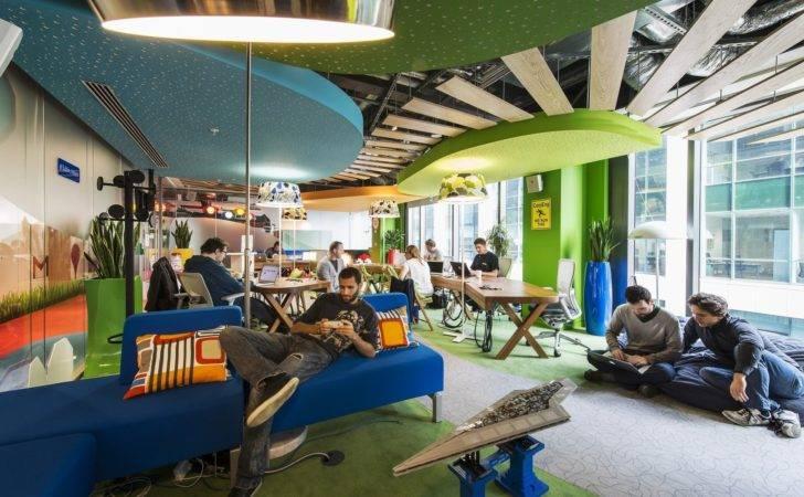 Google Campus Dublin Camenzind Evolution Henry Lyons