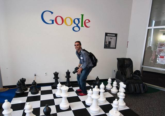 Google Headquarters Visit Flickr Sharing