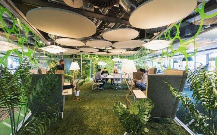 Google Ireland Office Camenzind Evolution Dublin Retail Design
