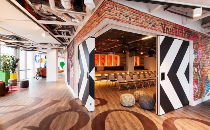 Google Offices Tend Draw Inspiration City They