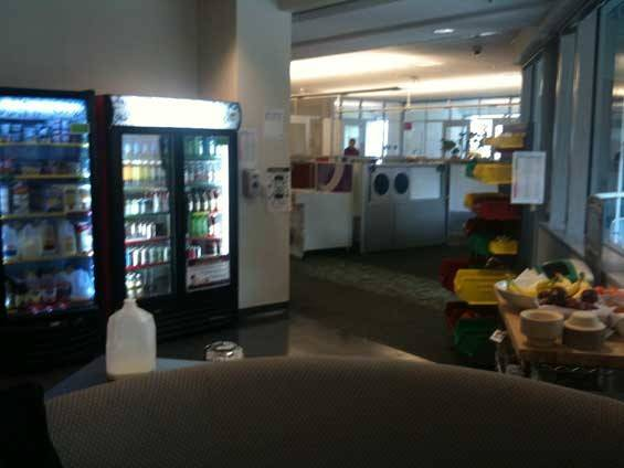 Googleplex Cafeteria Chill Out Zone