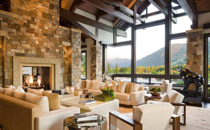 Gorgeous Luxury Home Staggering Over Aspen Freshome