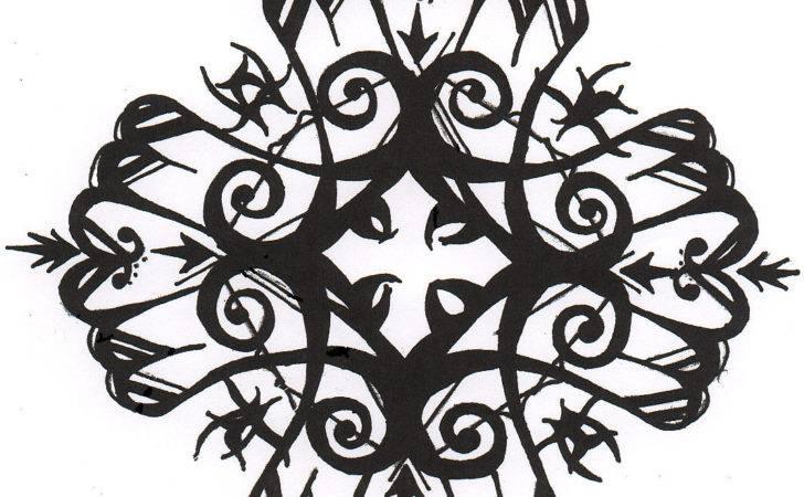 Gothic Cross Design Darkdragonlord Deviantart