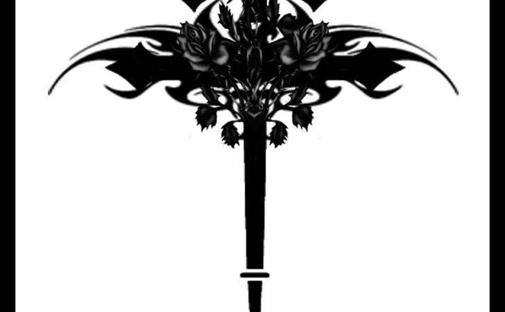 Gothic Cross Roses Quicksilverfury Deviantart