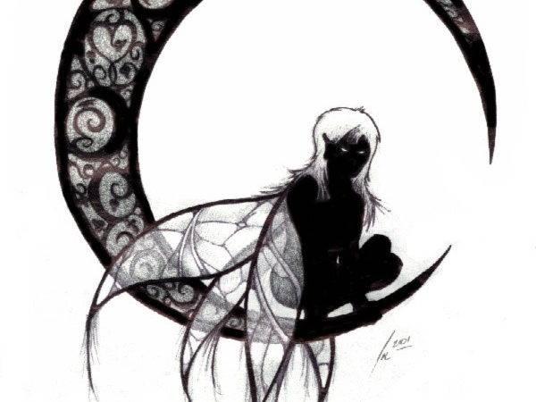 Gothic Fairy Tattoo Design Busbones