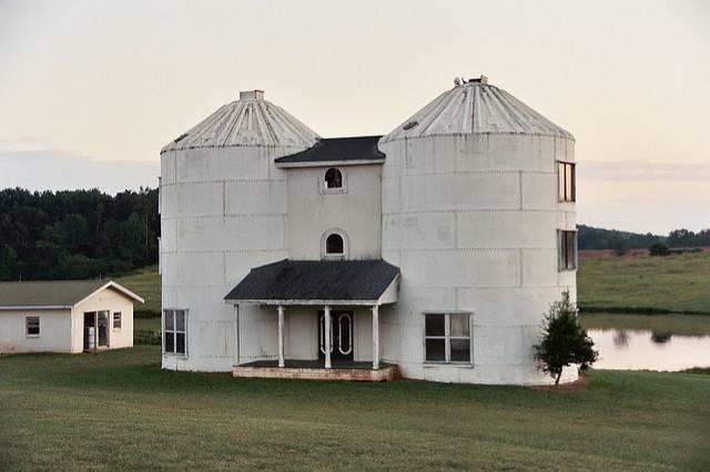 Grain Bin House Floor Plans Well Missile Silo Home