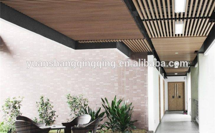 Grain Wpc Ceiling Decking Boards Composite Roofing Buy