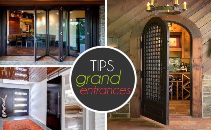 Grand Entrances Ideas Help Make Entrance