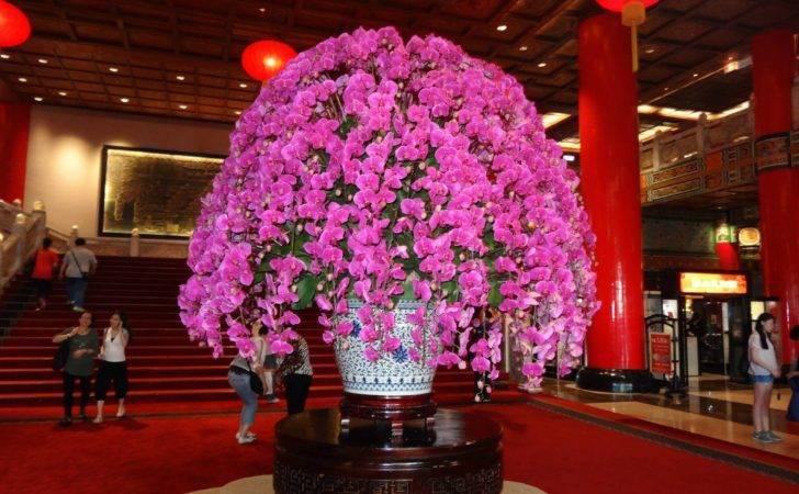 Grand Hotel Lobby Flowers