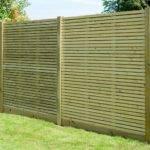 Grange Contemporary Wooden Fence Panels Internet Gardener